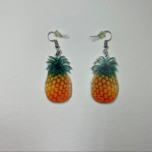 New Pineapple 🍍 Fruit Earrings